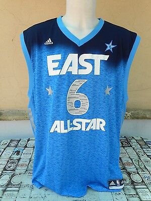 Canotta Basket Nba All Star Game East Conference #6 James Adidas Xxl Shirt
