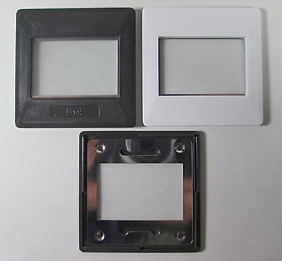 35mm 24 x 36 Gepe Slide Mounts 20 Count Box #6002 with Anti Newton Glass