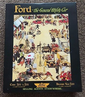 Corgi Ford The General Utility Car Set with 2 Model T Vans