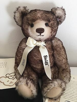 Steiff Bear Of The Year 2005. Limited Edition 715/1500.