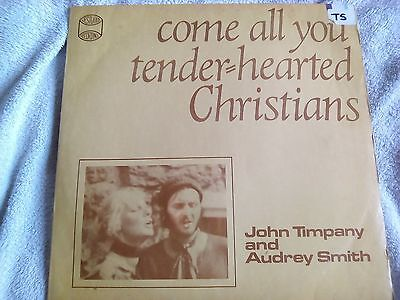 lp john timpany and audrey smith - come all you tender hearted christians