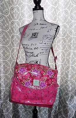 Baby Lulu Diaper Bag, Clutch, and Pad By Timi & Leslie Floral Pattern
