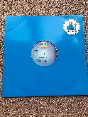 """Dr Phibes - THE STORY TWO 90s 12"""" inch Vinyl Trance Techno Rave Electronic"""