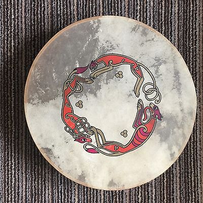18'' Irish Bodhran Celtic Design