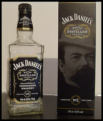 Jack Daniel's Master Distiller Series N°1 Limited Edition empty bottle in box