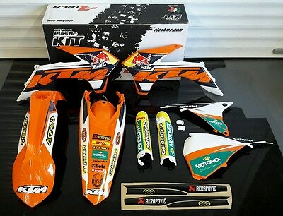 2016 Ktm Exc 125 200 250 300 350 450 500 Plastics And Graphics Kit