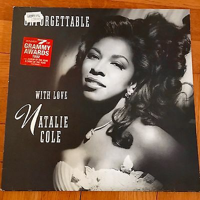 Natalie Cole Unforgettable with love 2x LP DoLP RARE OIS