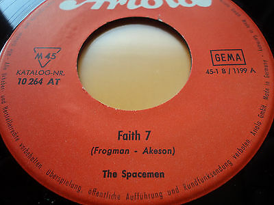 "7"" The Spacemen FAITH 7 - MOON SAFARI Ariola super selten!"