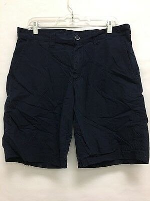 NWOT Columbia Men's Washed Out Shorts Navy Size 34X10 (bm)