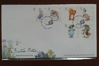 Royal Mail Beatrix Potter Stamps 2016 Commemorative First Day Cover Fdc In Slip