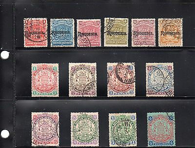 Rhodesia collection good to fine used. Cat £100
