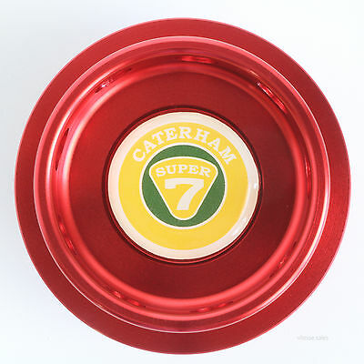 Caterham Super 7 K Series Oil Filler Cap Red Anodised Billet Aluminium K16 VVC