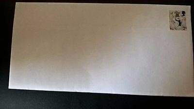 100 2nd class completely unfranked stamps on new white DL envelopes