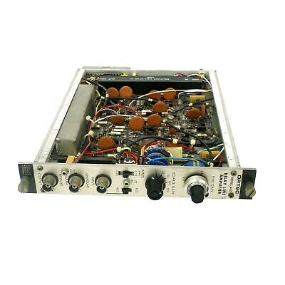 EG&G Ortec 460 Delay Line Amplifier Nim Bin Plug-In Module