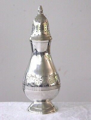 Vintage silver plated decorative sugar sifter caster