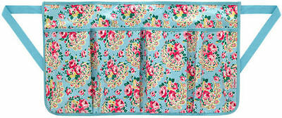 Cath Kidston Wax Cottong Gardening Apron Garden Tool Belt Rose Paisley NEW Tags