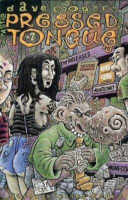 Dave Cooper's ~ PRESSED TONGUE #2 Fantagraphics Books Adults Only RARE US/1994