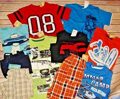 Nwt Boys Summer Clothes Lot 4 4T Gymboree Sets Outfits Plaid shorts tops New