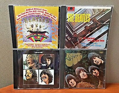 The Beatles:  4 CD Collection   (Parlophone)   LIKE NEW  DB 2329