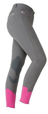 """BNWT Shires Maids / Girls Bloomsbury Breeches - Grey Size 24"""""""