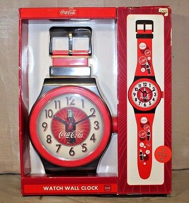 Coca-Cola Wrist Watch Style Wall Clock