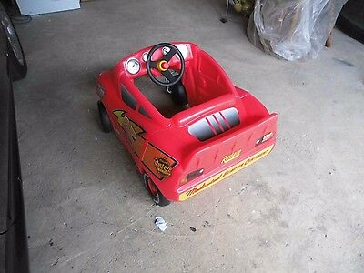 """Little Tikes """"rusteeze"""" Red Kiddies Car, Good Condition"""