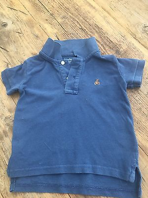 Boys Baby Gap Blue Polo Shirt 12-18 Months