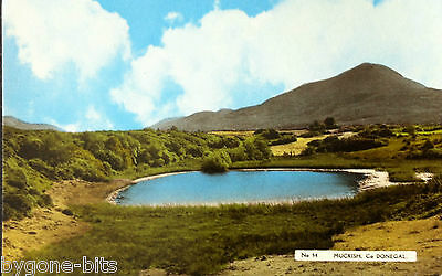 MUCKISH CO DONEGAL POSTCARD 1930's IRELAND DICKSON LONDONDERRY