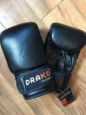 New Lot Qty 8 Drako Leather Bag Gloves $480 Value