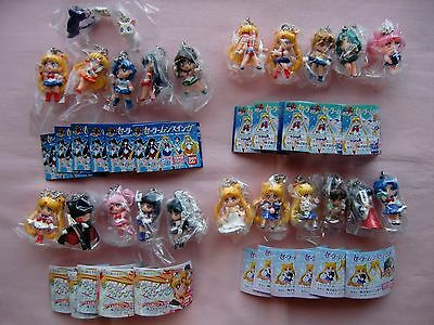 Sailor Moon Swing Key chain  Figure  new  unopend  part 1,2,3,4  all set  only 1