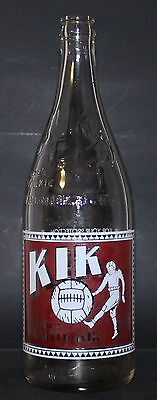 KIK COLA - 28 oz - ENGLISH ONLY VERSION - POP / SODA BOTTLE - CANADA