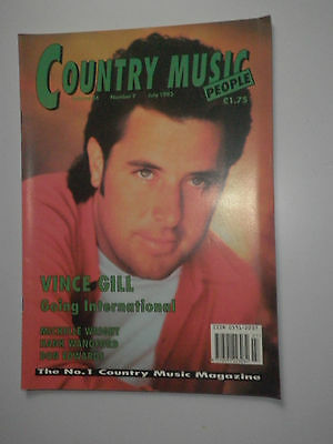 Country Music people July 1993 Vince Gill Cover