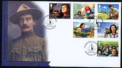 FDC GB BUCKINGHAM COVERS L.T.D  No 11 2007 SCOUTS VERY LTD SCOUTING