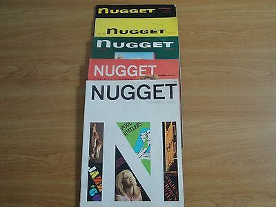 Vintage Adult Magazines 5 Issues Nugget, vg,1950'S & 60'S