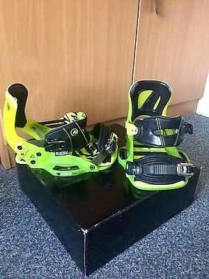 Hyperlite System Pro Bindings Chassis Yellow