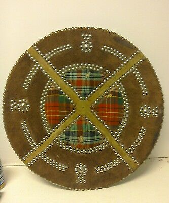 "Scottish Shield / Targe "" Caledonian  "" Hand made in Scotland"