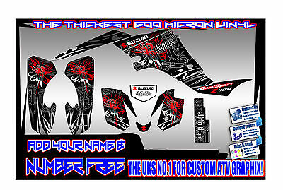 Suzuki Ltz400/ltr450 04-12 Years  Heavy Duty   Graphics Decals