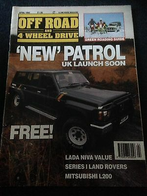 Vintage Off Road And 4 Wheel Drive Magazine April 1992