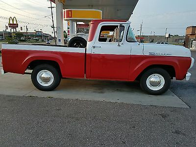 1959 Ford F-100  1959 ford f100 pickup fully restored