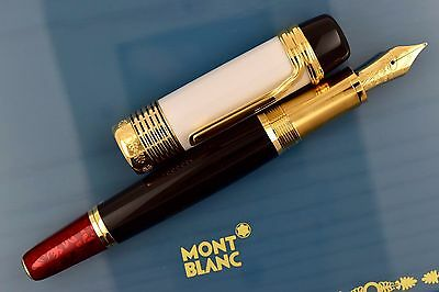 NEW Montblanc Patron of Art Limited Edition 4810 Luciano Pavarotti Fountain Pen