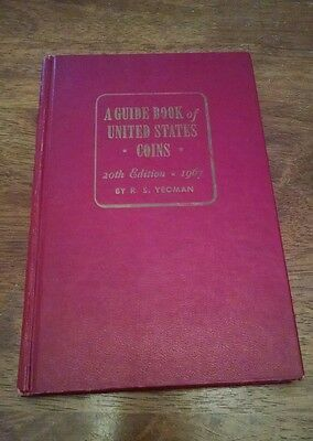 A Guide Book of United States Coins 20th Edition RS Yeoman Red Book 1967 (VG+)