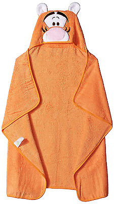 Disney Baby TIGGER Puppet Hooded Towel, Orange