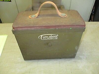Vintage Turn-About Swivel Seat And Ammo Shell Box