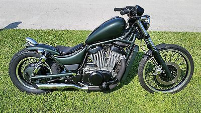 1998 Custom Built Motorcycles Bobber  1998 Suzuki Intruder 800