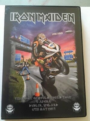 Iron Maiden Concert DVD Dublin Ireland The Book Of Souls Tour PAL/NTSC