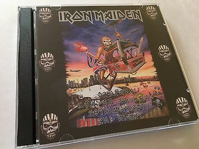 Iron Maiden Double CD London O2  England 2nd Night The Book Of Souls Tour 2017