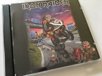 Iron Maiden Double CD Dublin Ireland The Book Of Souls Tour 2017