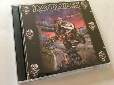 Iron Maiden Double CD Leeds England The Book Of Souls Tour 2017