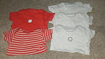 5 boys short sleeve vests, 18-24 months, 1 1/2 - 2 years