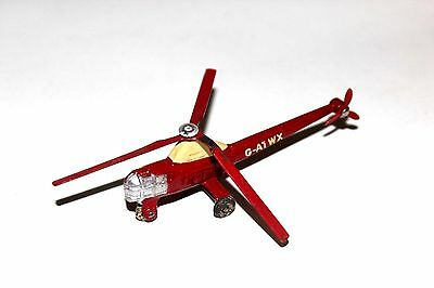 Dinky Toys Red Westland Sikorsky S.51 Helicopter # 716  (G-A1WX) !!